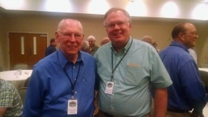 Rafael Cruz and Charles Gilliam in 2015